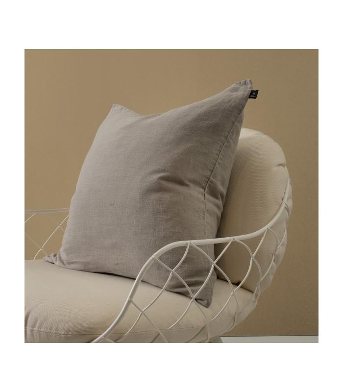 Natural Pure Linen Cushion 50x50cm