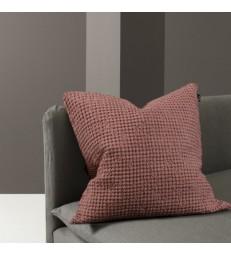 Pink Waffle Cushion 50x50cm