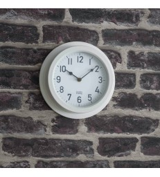 Outdoor Clock in White