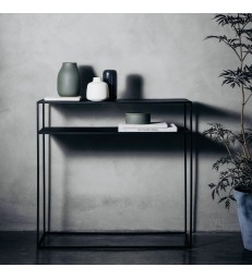 Console Table - Black Steel