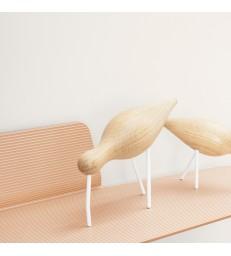 Large Oak Shorebird - White Legs