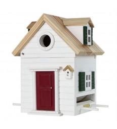 New England Style Bird Feeder and Nesting Box