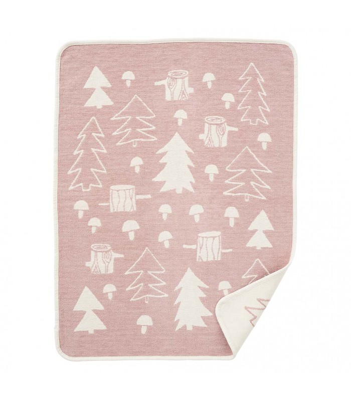 Mushroom Pink Children's Baby Blanket