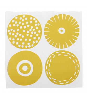 Candy Yellow Paper Napkins