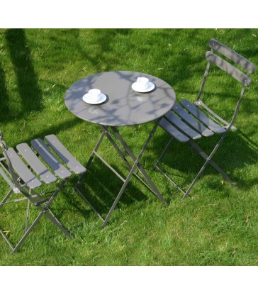 Bistro Table & Chairs - Peat