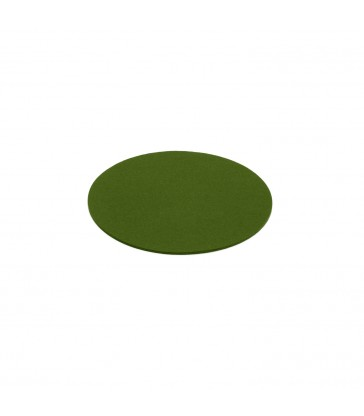 Woollen Felt Coaster - Olive