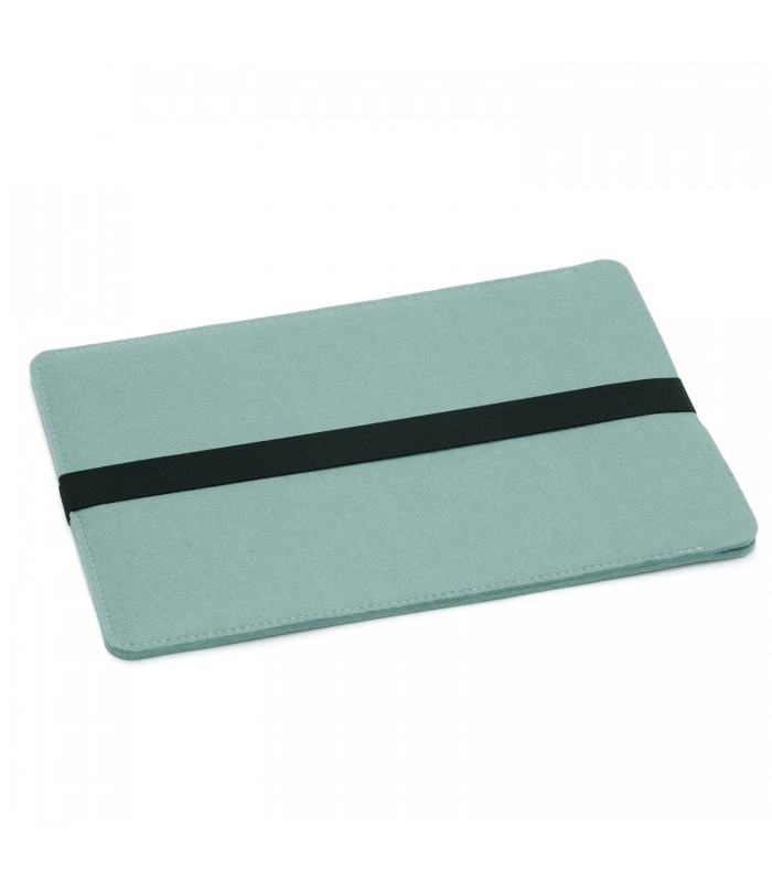 "Aqua 100% Woollen Felt MacBook 13"" Bag"