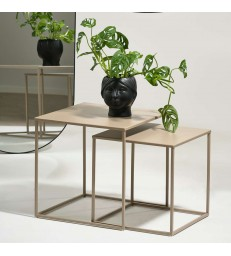 Nesting Coffee Tables in Sand - Sale