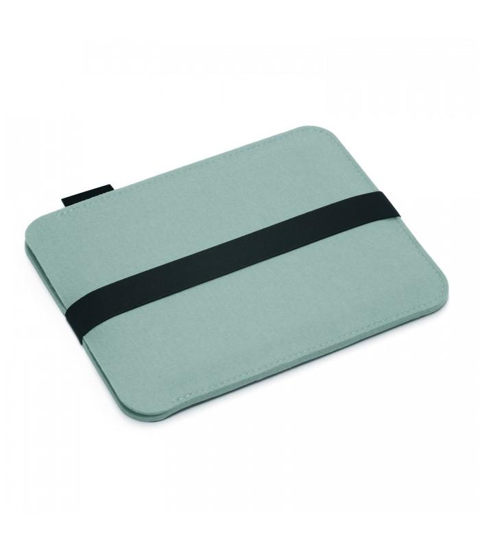 Aqua Blue Woollen Felt iPad Bag
