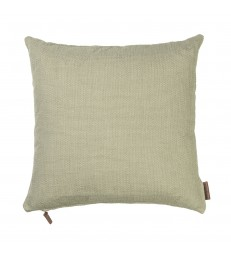 Khaki Green Hand Loomed Cushion