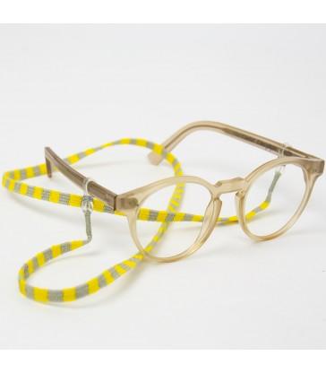 Glasses Lanyard Yellow/Grey - Sale