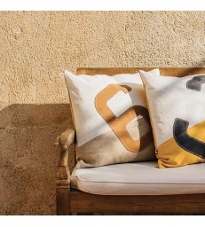Sailbag Cushion No 6 With Leather - Sale