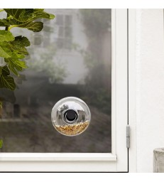 Glass Window Bird Feeder