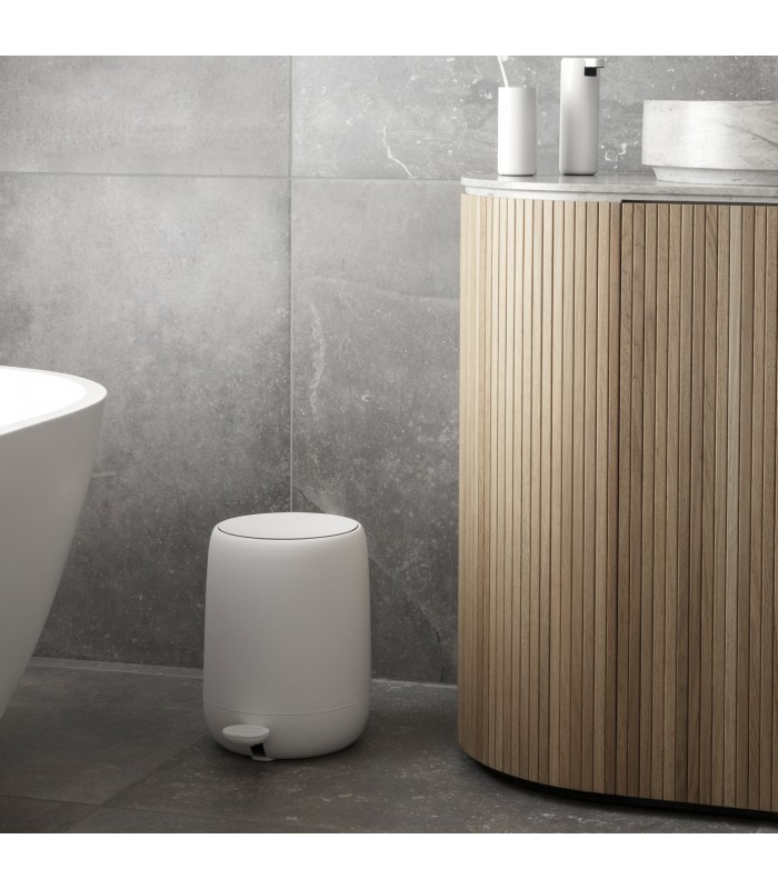 White Pedal Bin for your bathroom