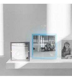 Square Acrylic Magnetic Frame - Grey