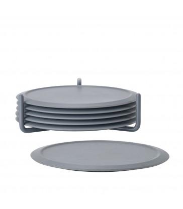 Set 6 Dark Grey Coasters