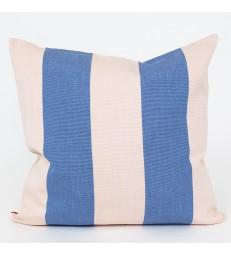 FIFI Blue and Pink Stripe Cushion