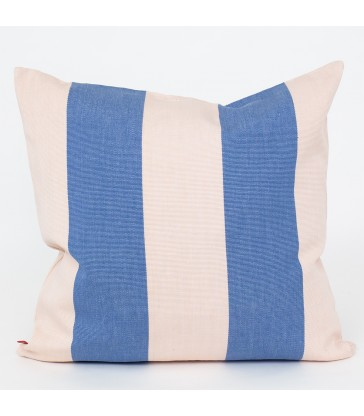 FIFI Blue and White Stripe Cushion