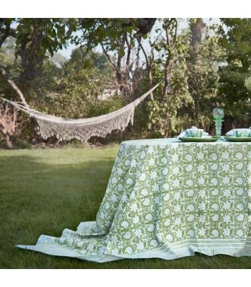 Paradise Green Table Cloth 170x270