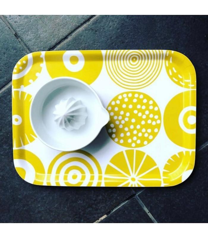 Candy Yellow Small Rectangular Tray