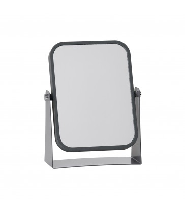 Grey Table Mirror with magnification