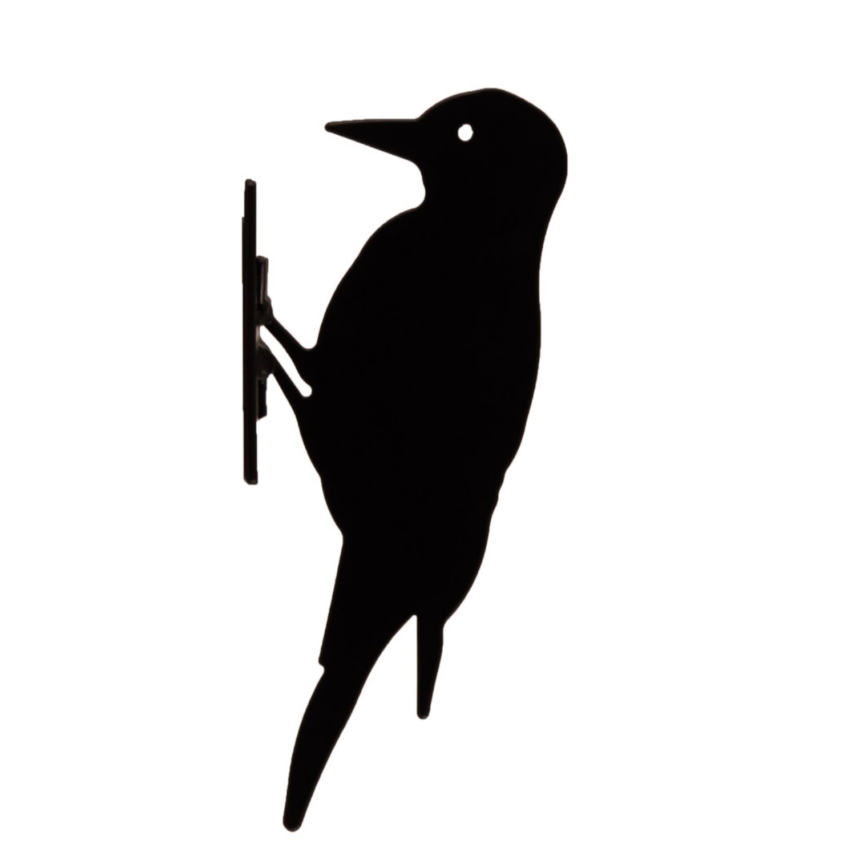 Woodpecker Silhouette The Blue Door