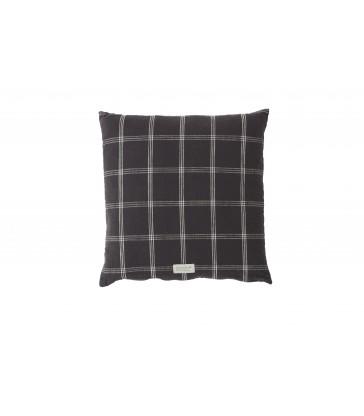 Kyoto Anthracite Grey Cushion 50x50cm