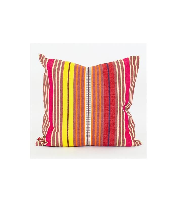 Adora pink Stripe cushion 50x50cm