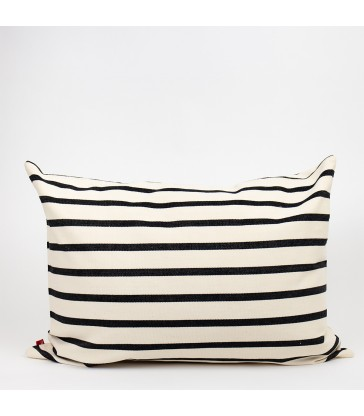 Juana cushion black & white 50x70cm