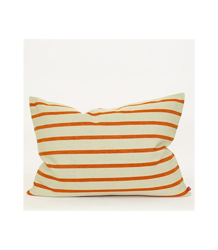 Juana Beige and Rust 50x70 Cushion