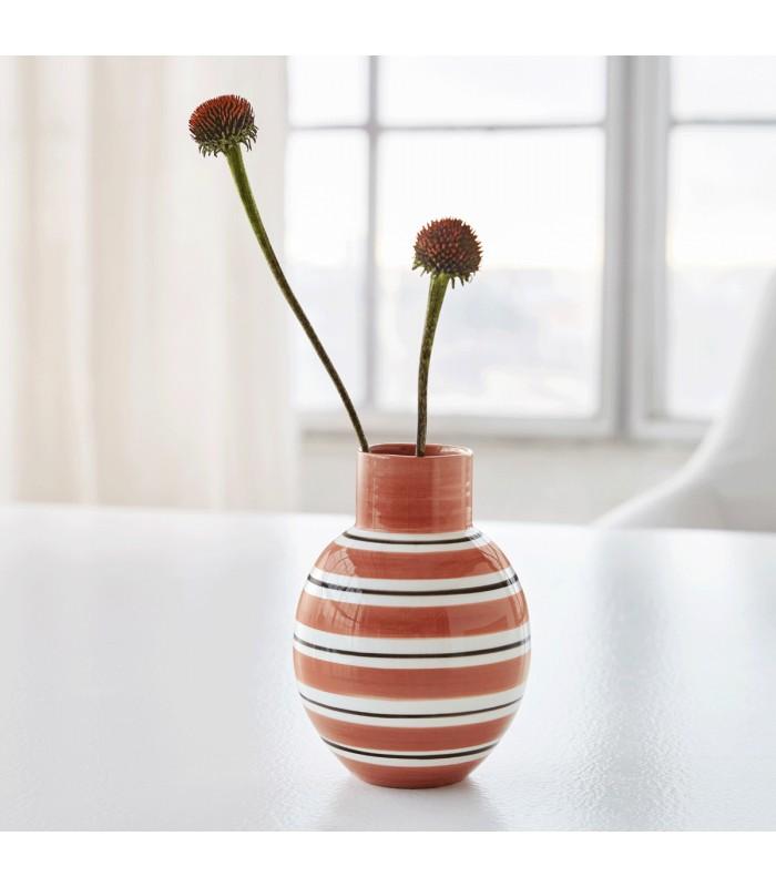 Terracotta pink flower vases