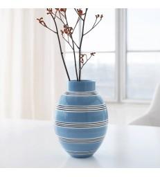 Blue Stripe Flower  Vase 30cm