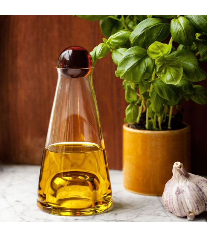 Small Glass Carafe for water wine or oils