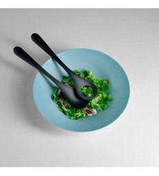 Set Salad Servers in Black