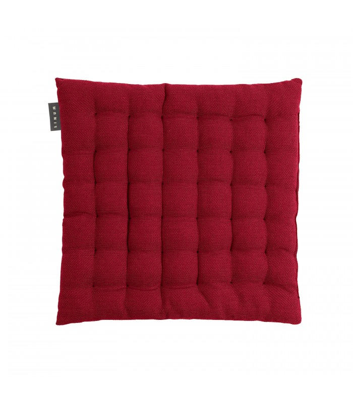 Pepper seat cushion - red