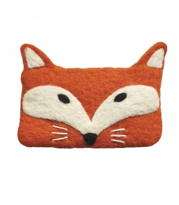 Fox Felt Purse