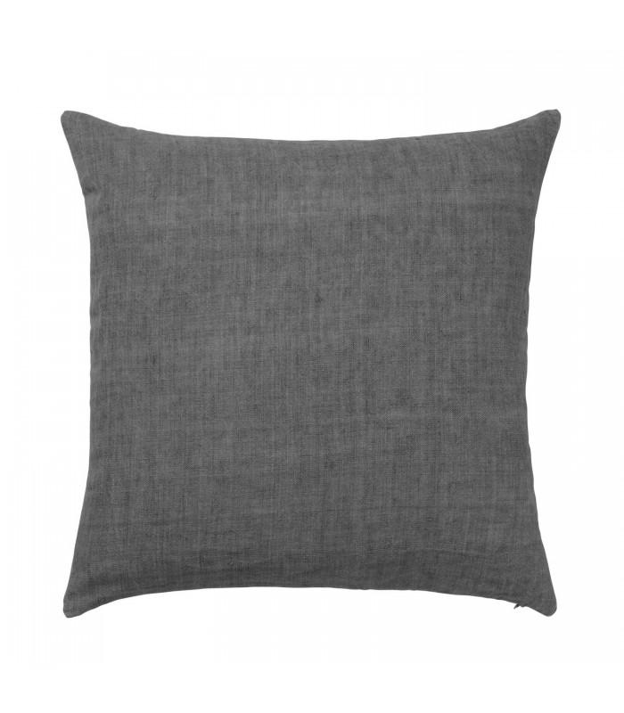 Charcoal Linen Cushion  50x50cm
