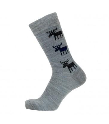 Merino Socks - Grey Moose