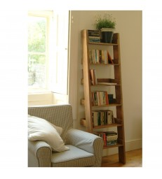 Oak Shelf Ladder - Narrow FREE DELIVERY OFFER