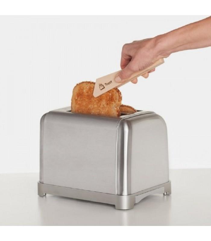 Wooden Toast Tongs