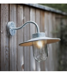 Ref 2 Swan Wall Light - Galvanised